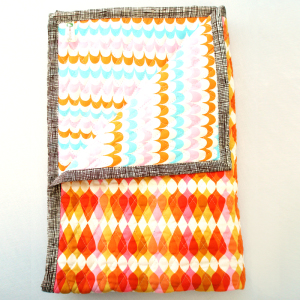 Little CandyMaker Reversible Quilted Blanket