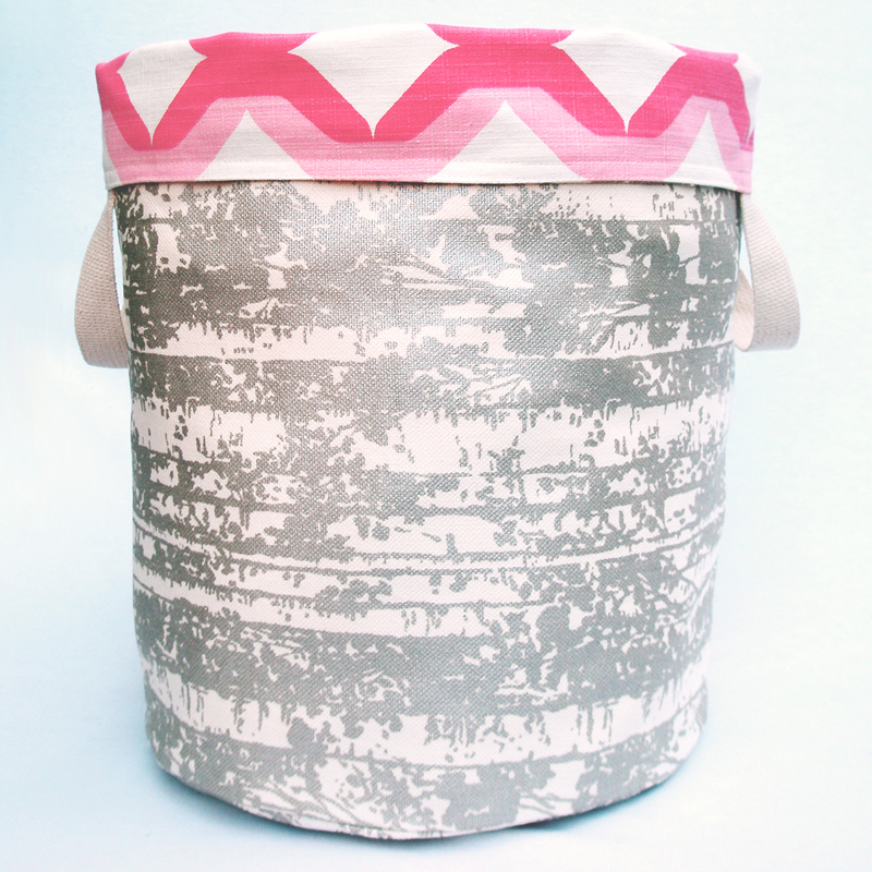 Pink Candy Reversible Storage Bin