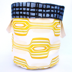 Lemon Reversible Storage Bin