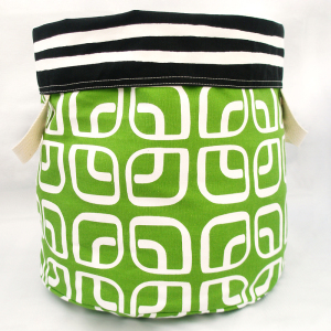 Licorice Reversible Storage Bin