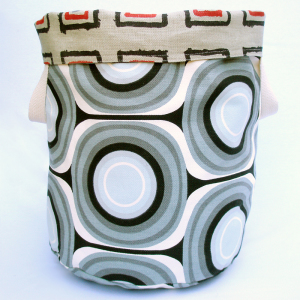 Space Reversible Storage Bin