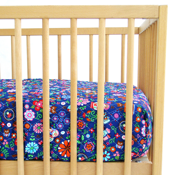 Little ToyMaker Reversible Fitted Crib Sheet
