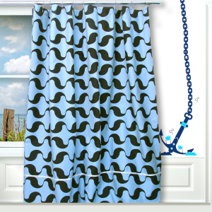 Wavy Window Curtain Drape