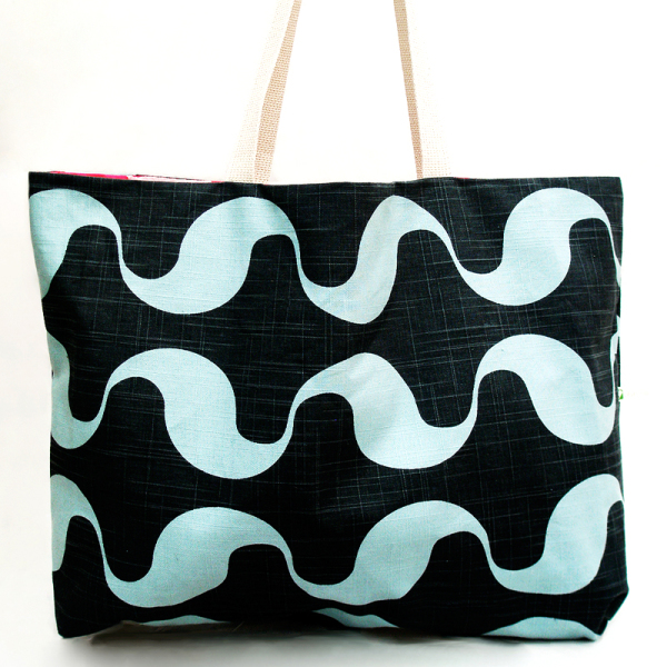 Wavy Gravy Reversible Tote Bag