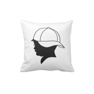 Baseball Kid Shadow Pillow