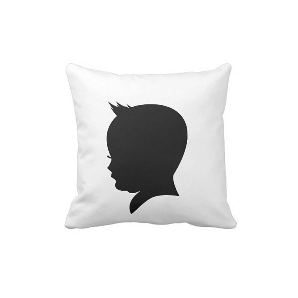 Little Big Boy Shadow Pillow