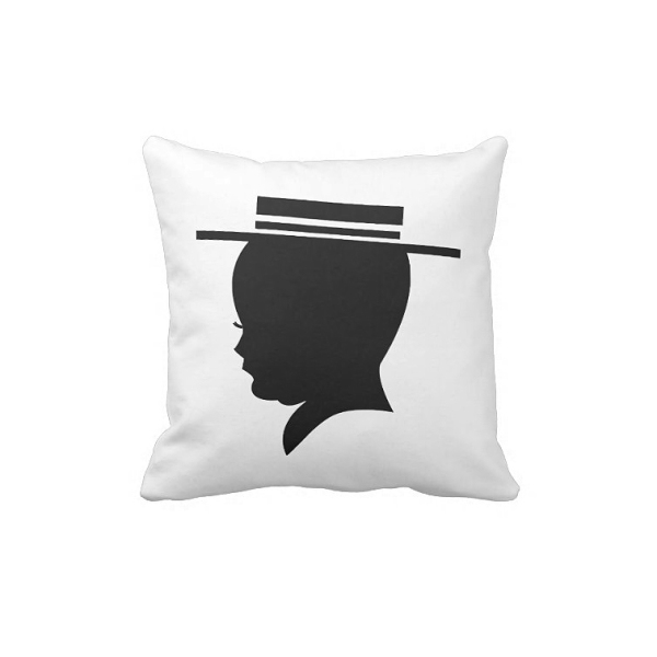 Barber Shop Quartet Shadow Pillow
