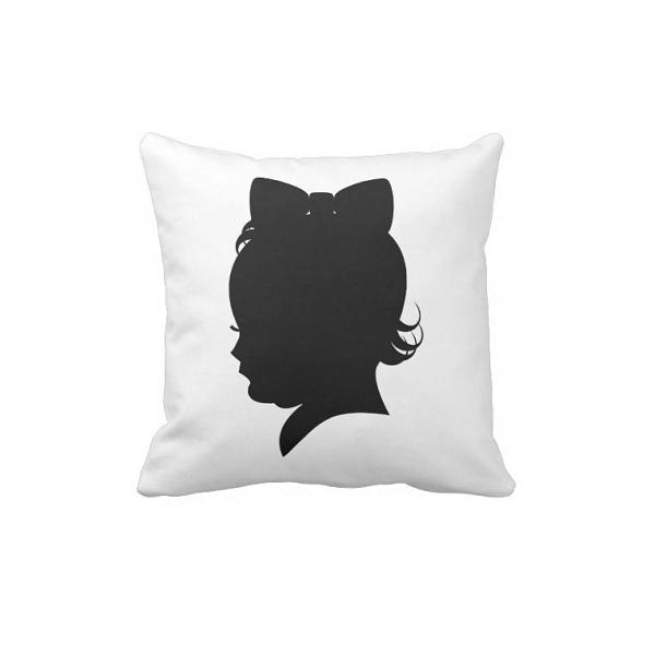 Shirley Temple Shadow Pillow