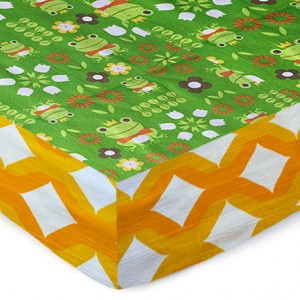 Leap Frog Complete Crib Sheet