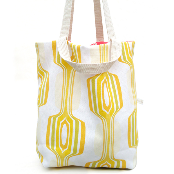 Lemon Reversible Tote Bag
