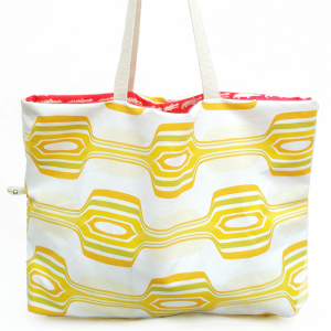 Lemon Zest Reversible Tote Bag