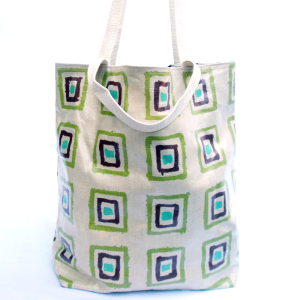 Paint Laminated Reversible Tote Bag