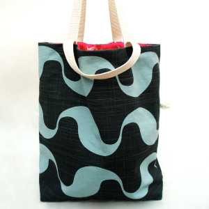 Wavy Reversible Tote Bag
