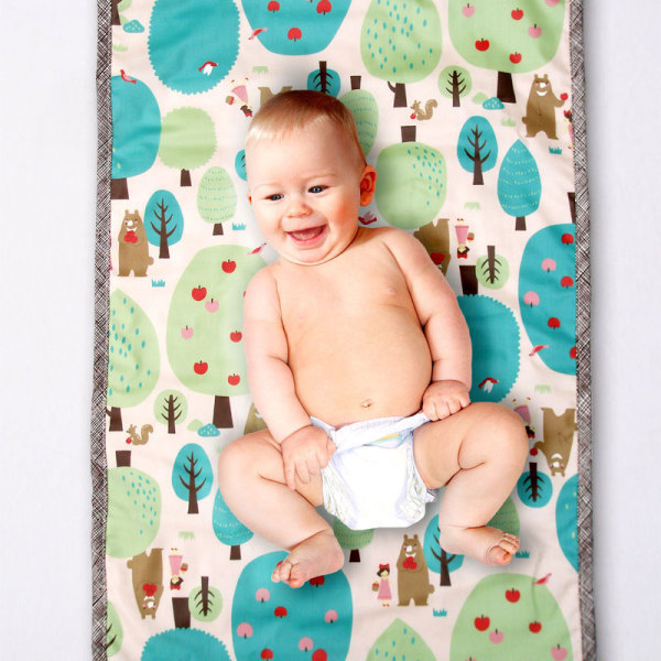 Chocolate Forest Changing Pad/Mat