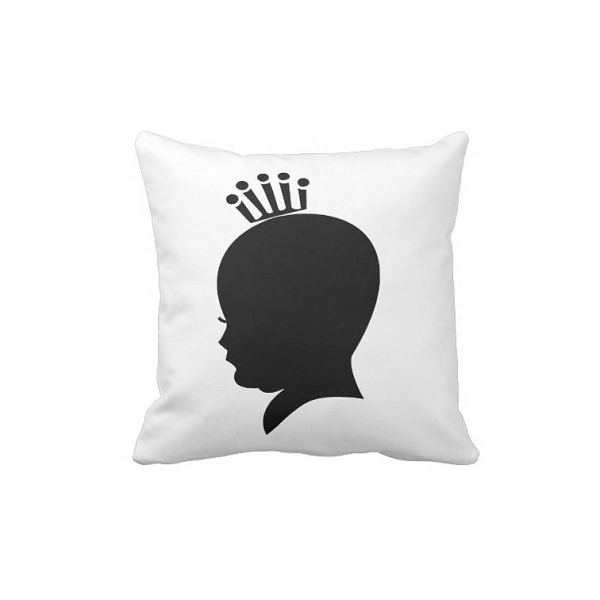 Little Royal Baby Shadow Pillow