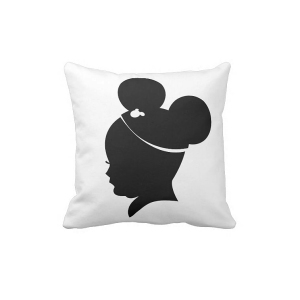 Mickey Mouse Shadow Pillow