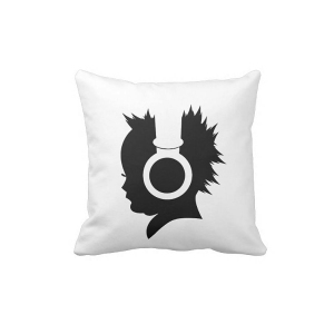 Rocker Baby Shadow Pillow