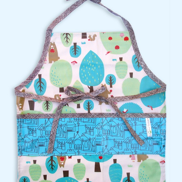 Child Apron Chocolate Forest