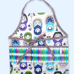 Child Apron Russian Dolls